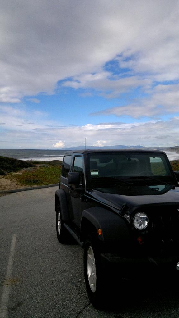 Jeep And The Sands