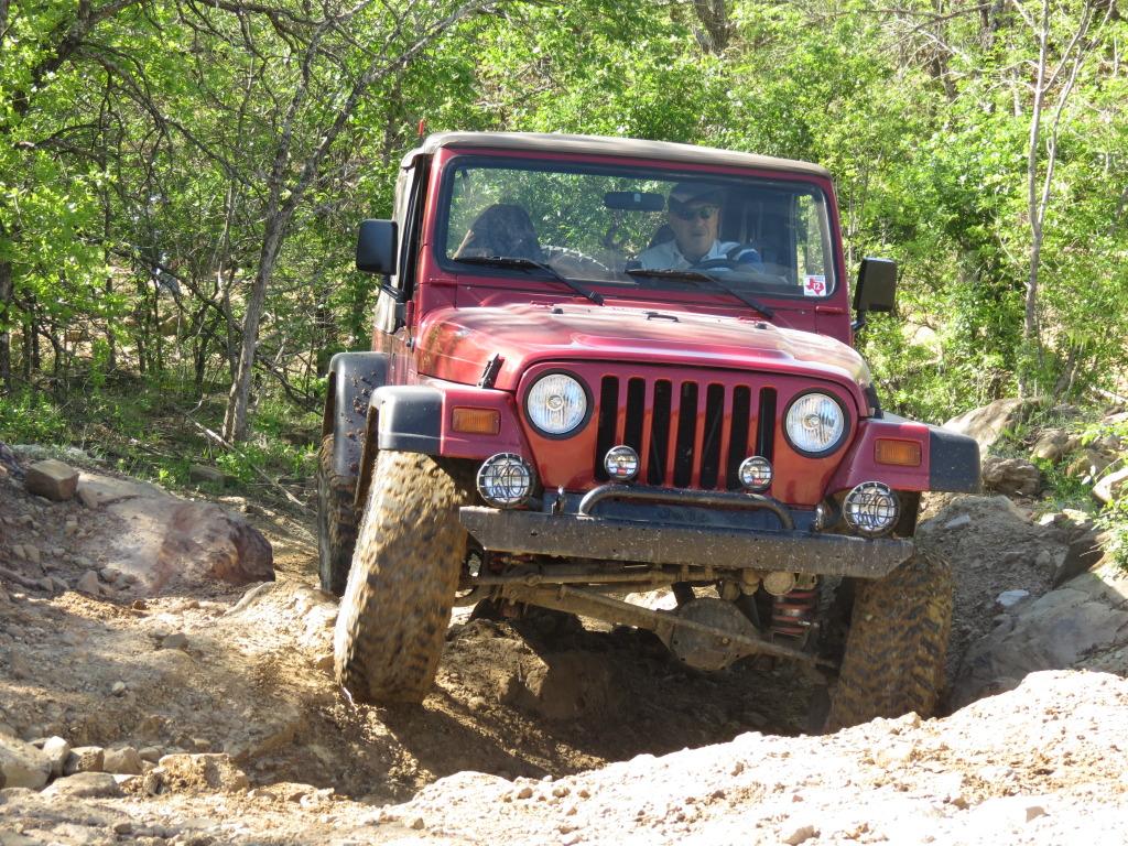 Jeep At Bridgport