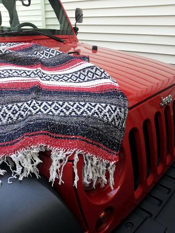Jeep Blankie