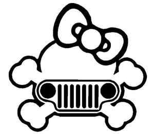Jeep Skull Girl