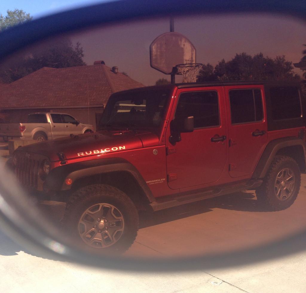 Jeep Through Sunglasses