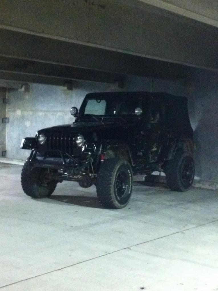Jeep Tj Project