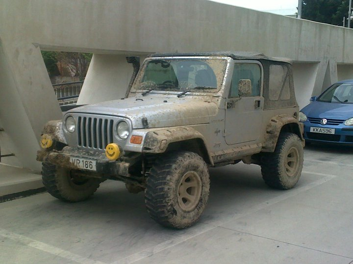 Jeep Wrangler 2002 Grizzly