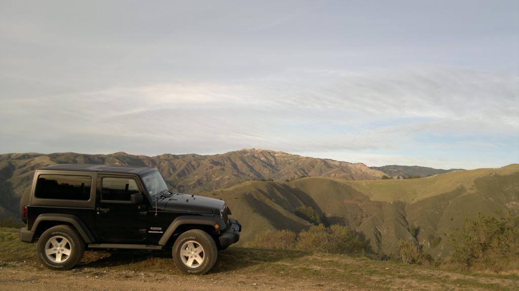 Jeeping At Big Sur