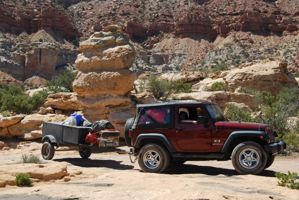 Jeeping In Tea Pot Canyon June 2012