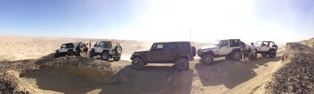 Jeeps At Ocotillo