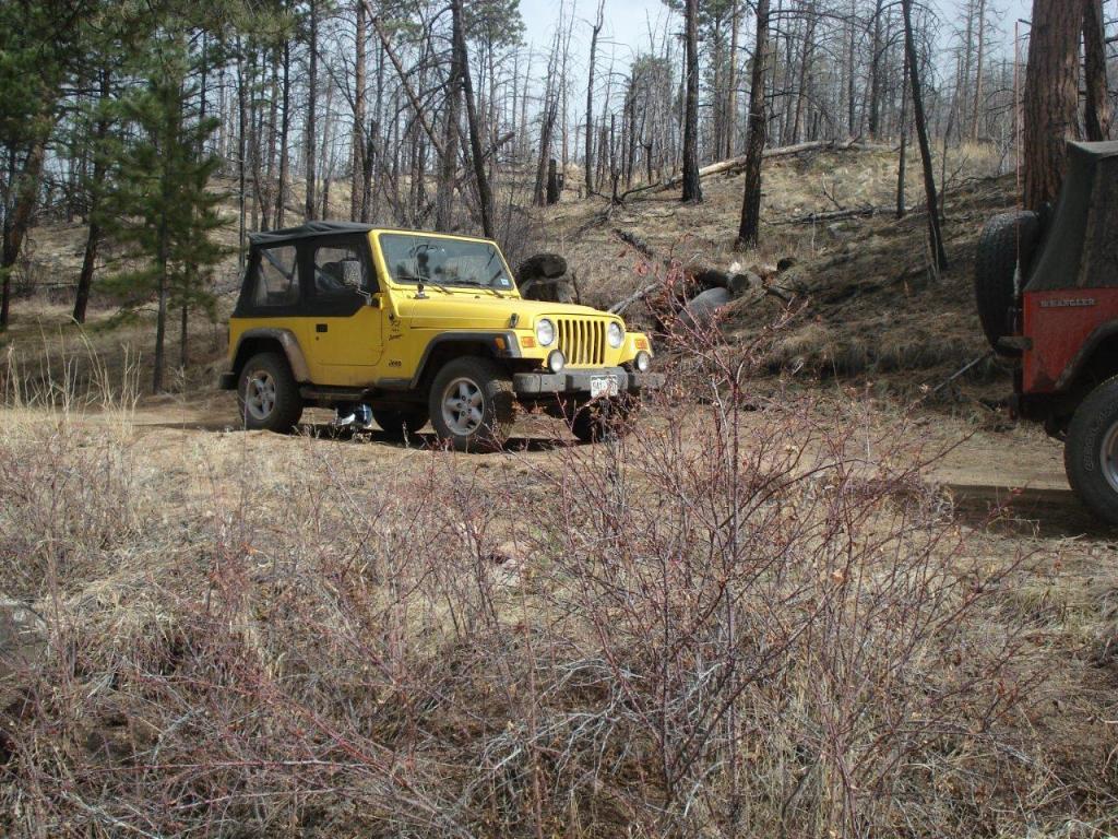 Late Winter Jeep Run