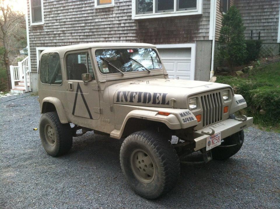 Jeep Wrangler Paint Job >> Military Paint Job - 91 yj islander transformed into a 91 yj infidel Wrangler Forum Gallery
