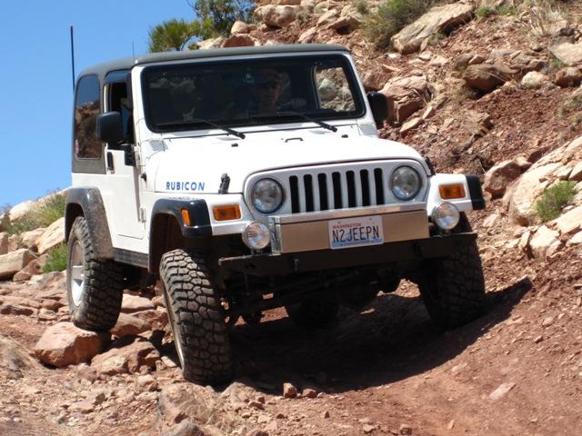 Moab Ut Apr2010 Klondike Bluff 041