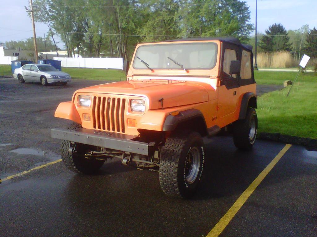 My 1989 Jeep Wrangler Yj