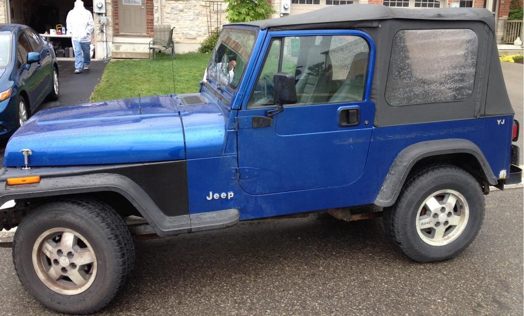 My 1994 Jeep Yj