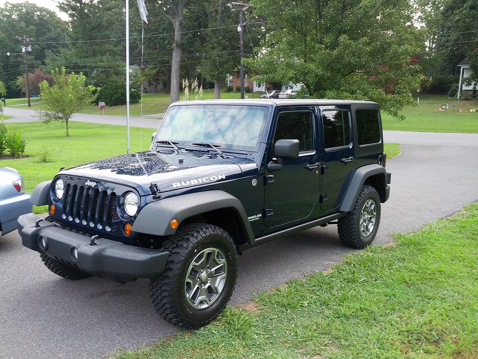 My 2013 Rubicon Unlimited