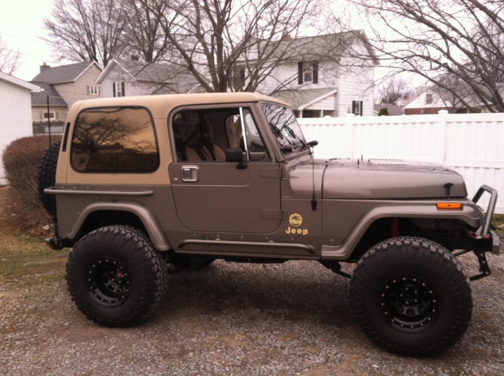 My  89 Jeep Tj