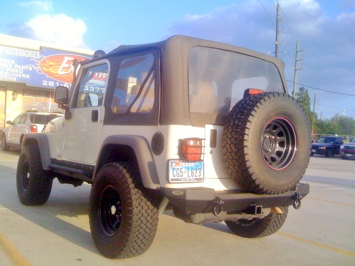 My Jeep back