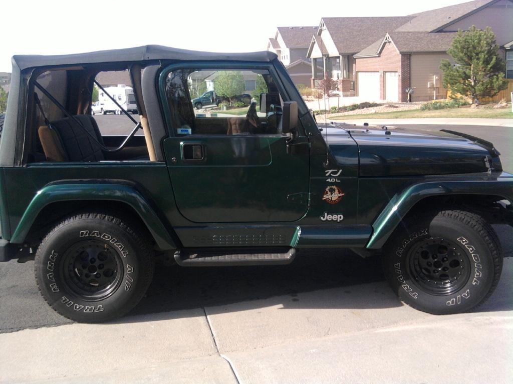 My Jeep Wrangler Tj