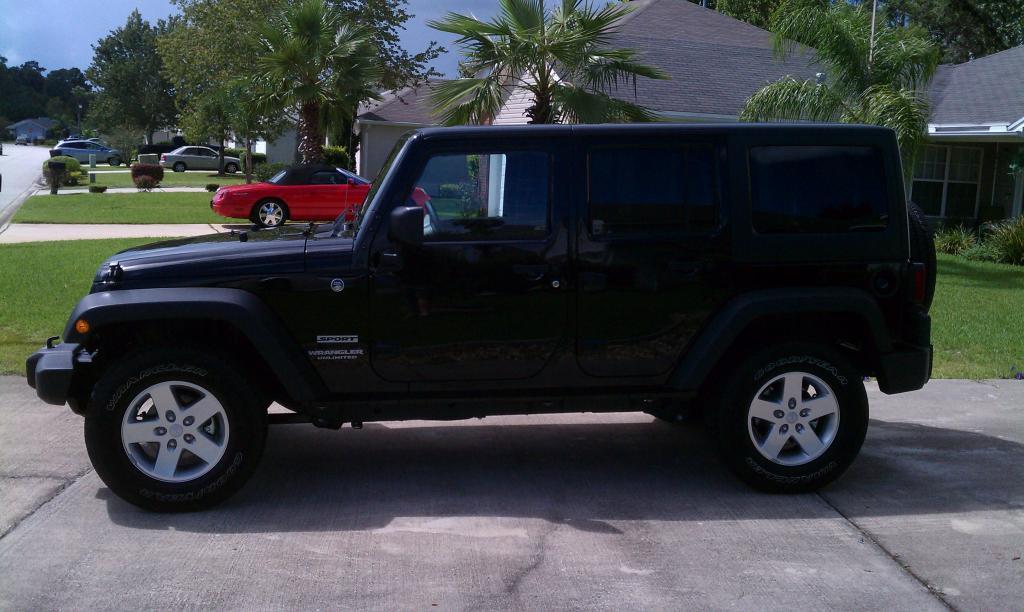 My New Jeep Jk