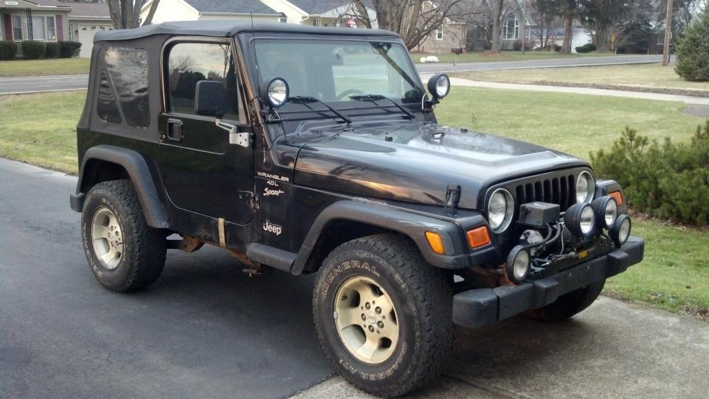 My New To Me 2000 Tj Sport