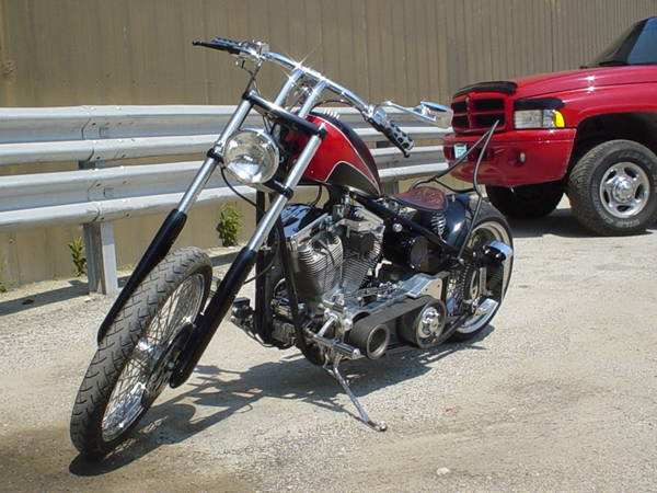 My Old Home Made Chopper