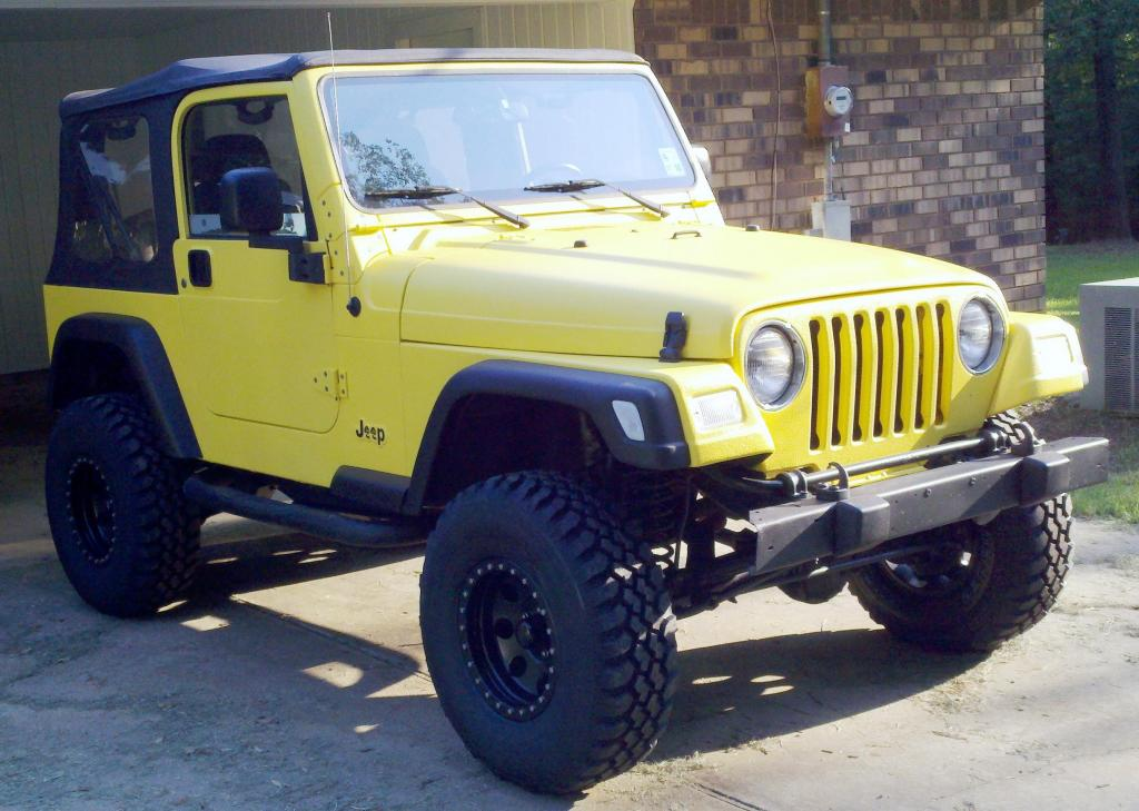 My Yellow Jeep