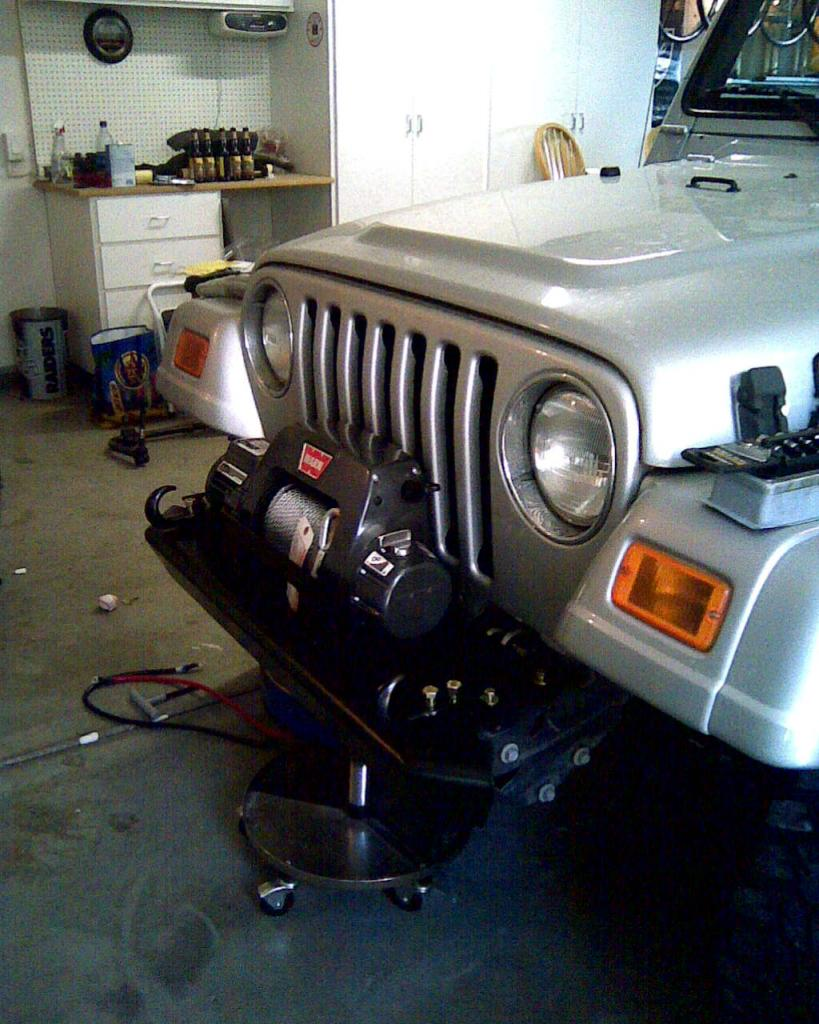 New Winch And Bumper