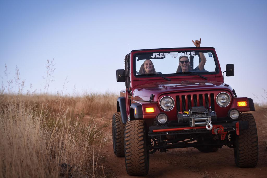 Offroading With Sis
