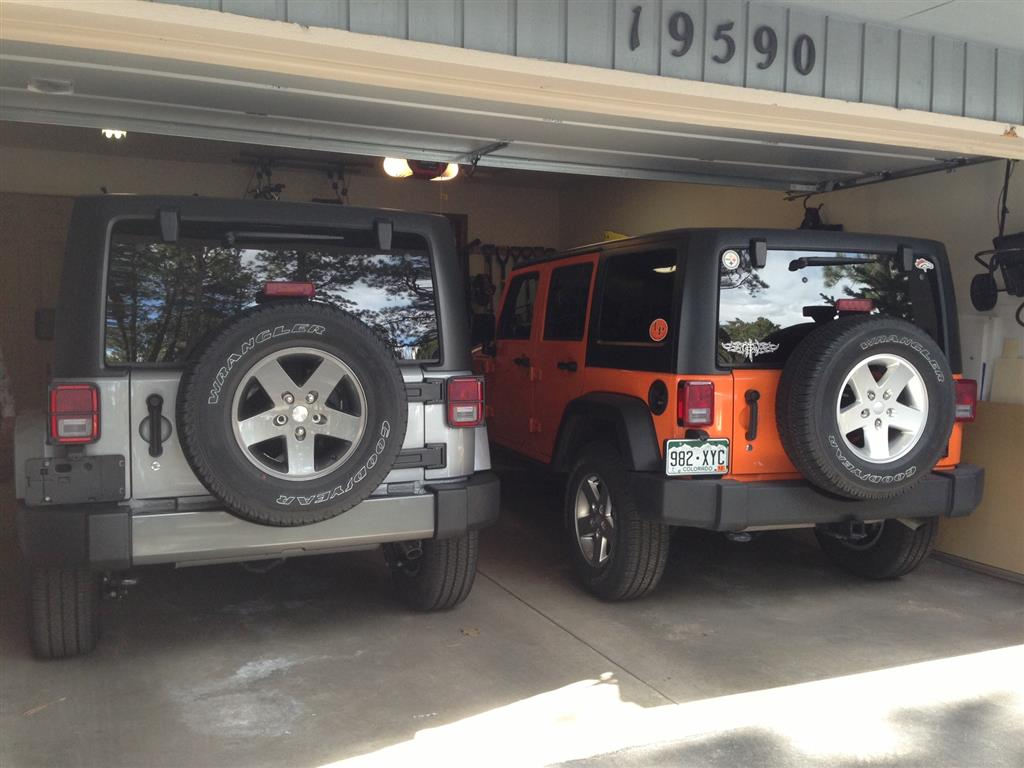 Our Jeeps!