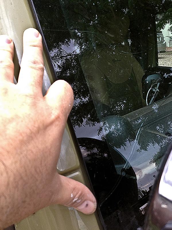 Passenger Side Cracks