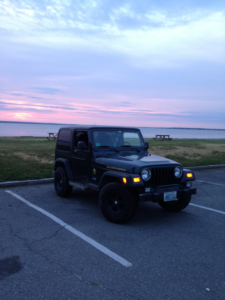 Plastidipped Then To The State Park To Watch The Sunset :-)