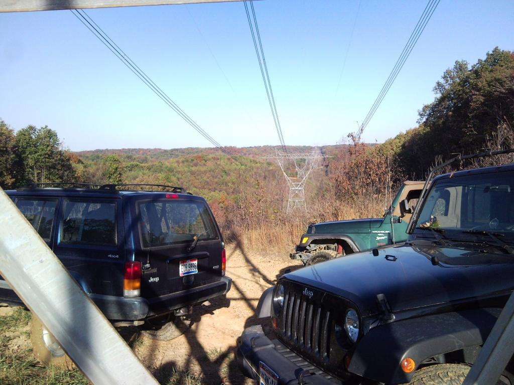 Power Line Road.  Roaming With The Guys