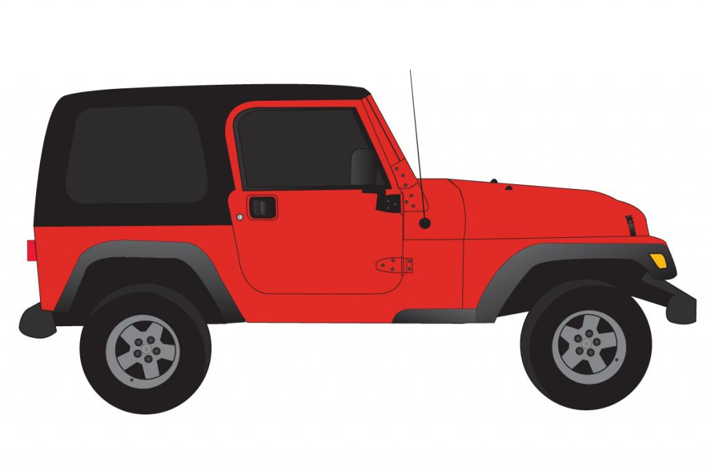 Red Ai Jeep