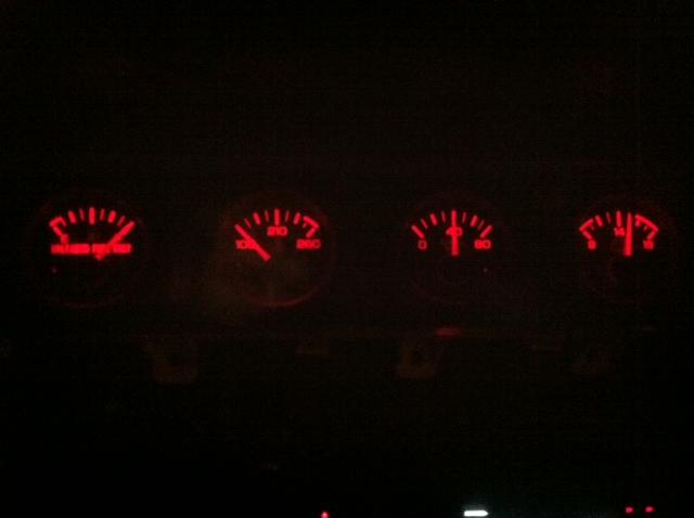 Red Led Dash Lights