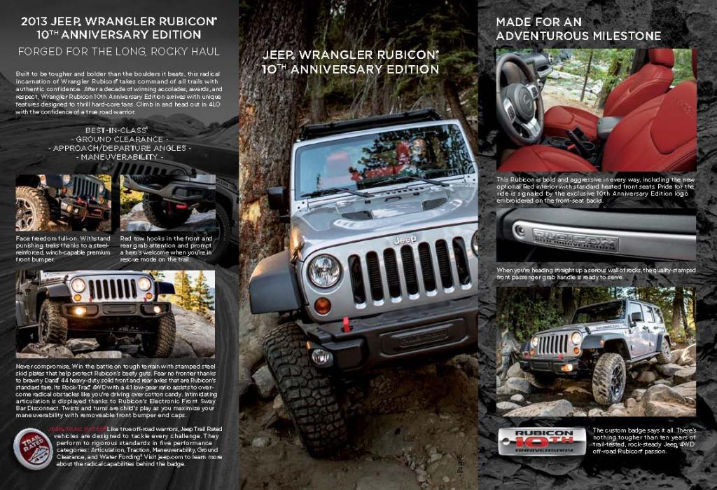 Rubicon - 10th Anniversary Brochure Page 3
