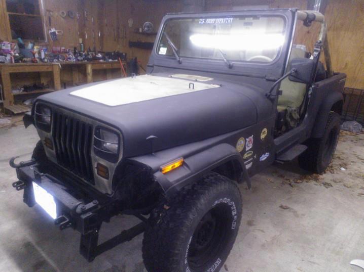 Sgt. Masons Jeep