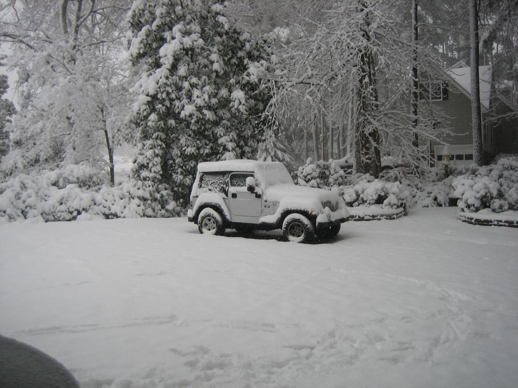 Snowed In...not!