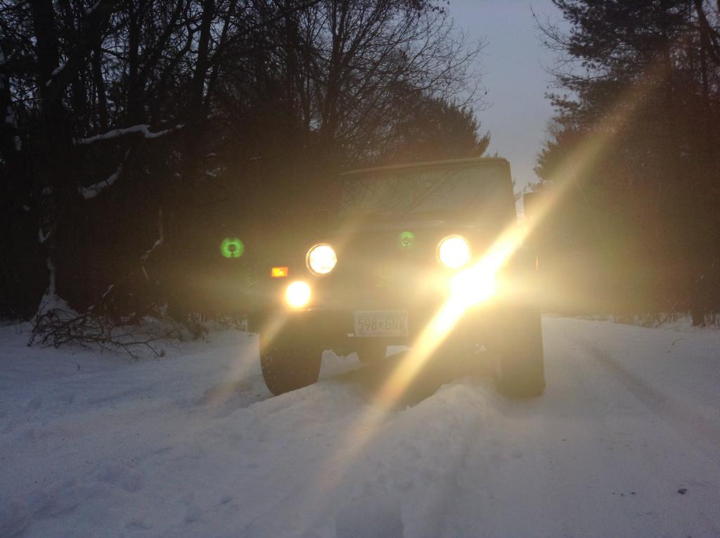 Snowy County Road