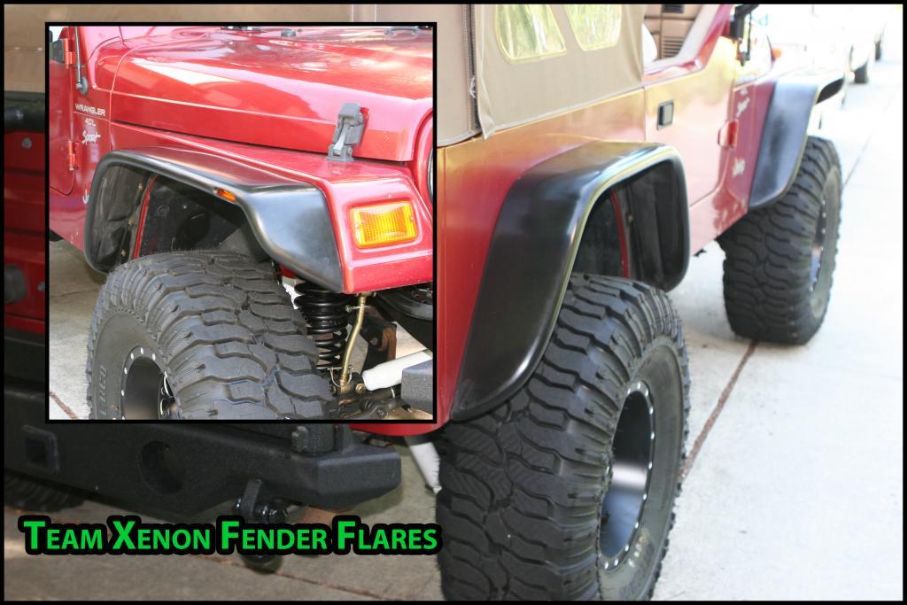 Team Xenon Fender Flares