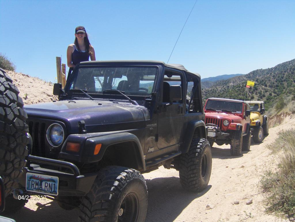 Teenager In Jeeper Training