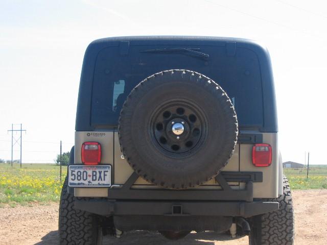 Tire Carrier/bumper 2