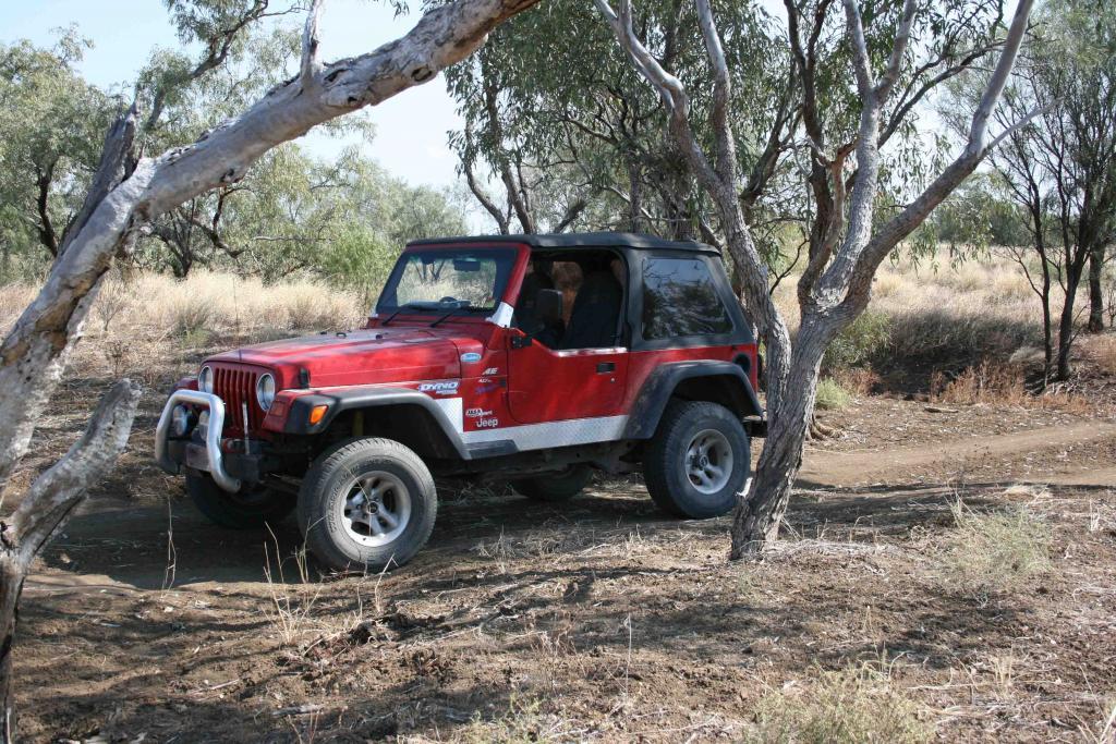 Tj In Outback Australia