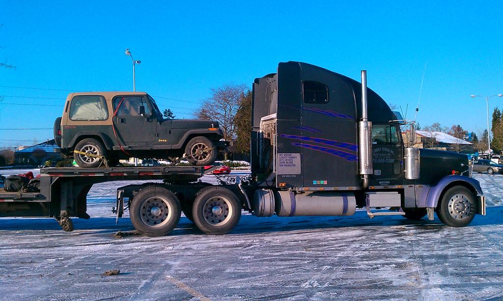 Tow Truck Overkill