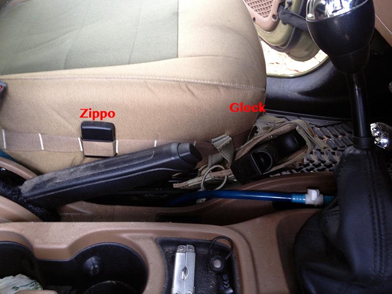 Trek Armor Molle Driver