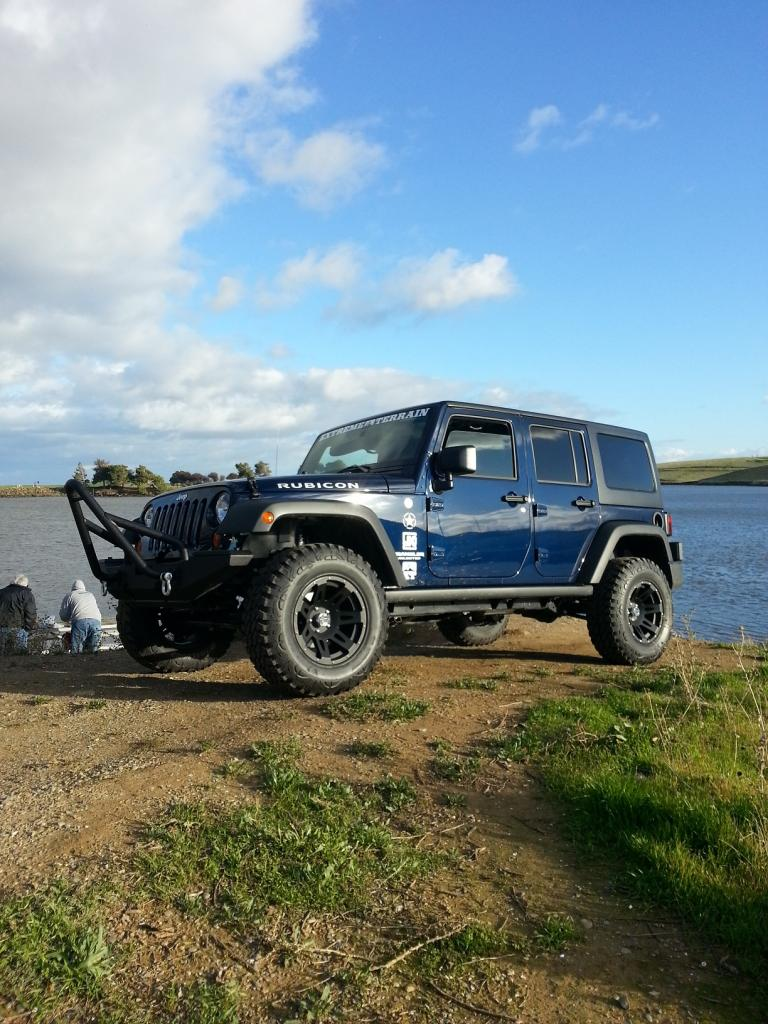 True Blue Jeep