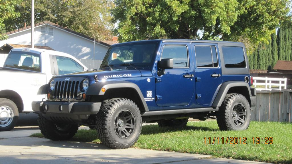 True Blue Pearl Rubicon