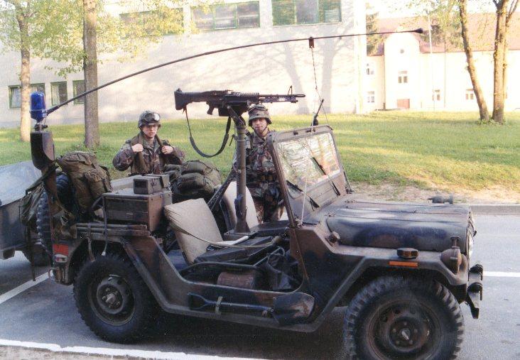 U.s. Army Jeep, Circa 1980's