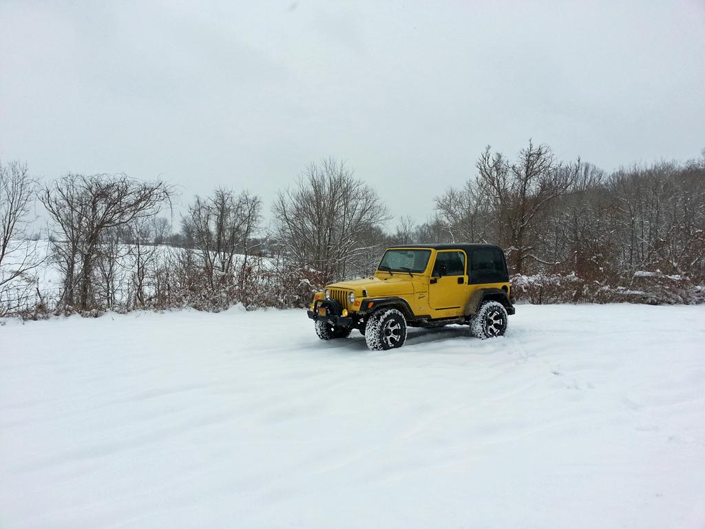 Winter Jeepin